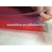 Embossed Rigid Color PVC Sheet for Silk-Screen Printing
