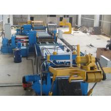 Machine de ligne de refendage de bobine d'acier de haute précision