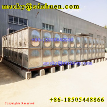 800m3 Cold Pressed Sectional/Panelized/Assembled Galvanizing Steel Clean Water Tank