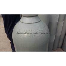 Cilindro de gás do óxido nitroso de ISO9809 40L, válvula Qf-2