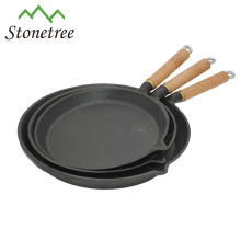 Chinese New Round Cast Iron Cookware Cast Iron Fry Pan Non Stick