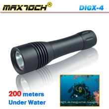 Mamtoch DI6X-4 Wasserdichte LED Tauchlampe T6