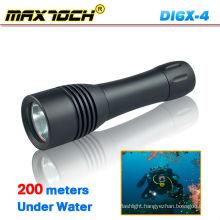 Maxtoch DI6X-4 Scuba Waterproof XM-L T6 Diving Flashlight