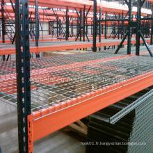 Store Pallet Rack Wire Mesh Decking