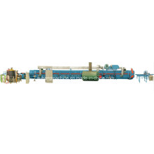 Capacidade Linha de produção de painel de porta seccional de espuma certificada pela Ce de qualidade