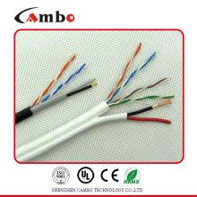 cat6 2dc power lan cable