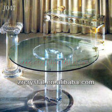 K9 Crystal Round Table