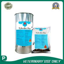 Ветеринарные препараты порошка тилозина тартрата