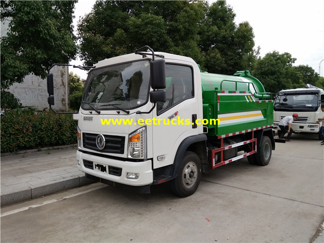 5500L Vacuum Fecal Suction Trucks
