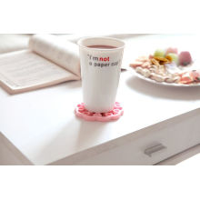 Square Design Silicone Cup Mat From Manufacture