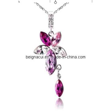 Sw Elements Crystal Rose Bijoux en fleurs et en Waterdrop