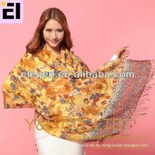 Nueva bufanda de la impresión de la rosa del todo-fósforo de la caída del estilo de la manera y del invierno
