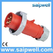 Saip Новый Высокое Качество Водонепроницаемый IP67 400 В 32A 6 ч 4-контактный Промышленный Разъем и Штекер