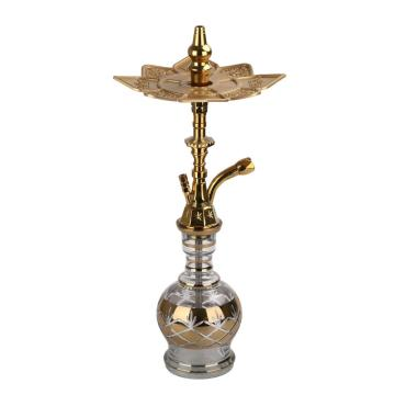 Latest Gold Egyptian Khalil Mamoon Hookahs Wholesale