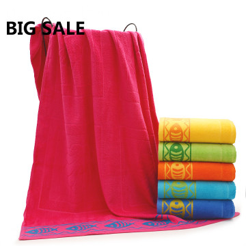 Bargain Price Stock Towels Flower Bath Towels