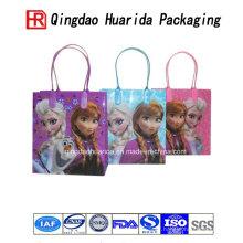 Les sacs faits sur commande en plastique de logo imprimé par logo fait sur commande le sac en plastique