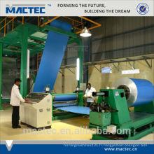 2014 bonne qualité bon service aluminium machine de revêtement en poudre à vendre