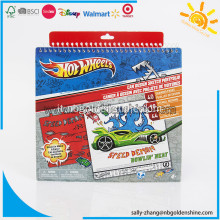 Notebook Portfolio di Sketch Hot Wheels