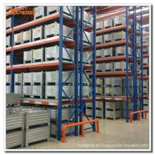 equipo logístico de almacén selectivo palet rack