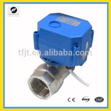 Mbus remote electric actuator ball valves for Solar thermal,under-floor,rain water