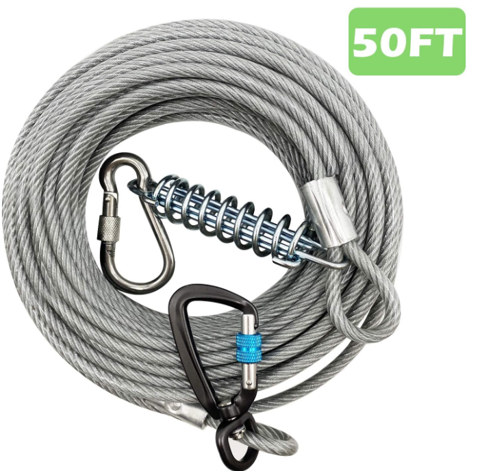 Heavy Duty Dog Tie Out Cable