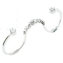2015 El más nuevo anillo de la joyería de la plata esterlina del diseño 925 (R10421)