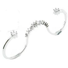 2015 Новые ювелирные изделия кольца стерлингового серебра конструкции 925 (R10421)