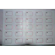 3X8 Tamaño A4 Invertir Em4200 RFID
