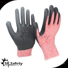 13 gauge Cut level 5 coated water-based PU gloves