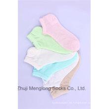Calcetines de verano colores brillantes con diseños de malla calcetines de algodón chica