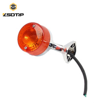 SCL-2013011131 C50 C70 C90 luz traseira lâmpada de motocicleta luz indicadora