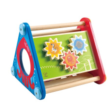 Wooden Educational Learning Toys Take-Along Activity Box Of Child