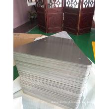 Folha de alumínio cromado 5052 H38 para espaços em branco de sinal