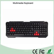 Multimídia durável do teclado do jogo da qualidade superior (Kb-1688-B
