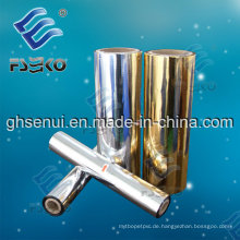 MPET metallisierter Laminierfilm (24mic) Goldfarbe