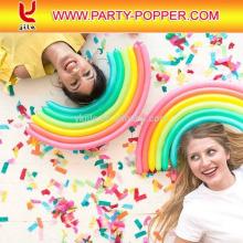 Les confettis en bloc grossissant la feuille de papier de soie ignifuge pour la partie et la faveur de mariage