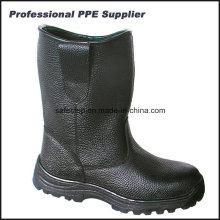 Genuine Leather Rubber Outsole Steel Toe Security Boots