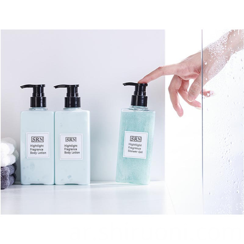 shower gel body lotion