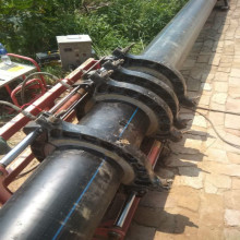 Tubería de plástico HDPE para suministro de agua PE100