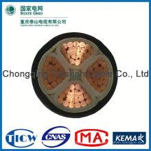 Gute Qualität PVC / XLPE Material mit DC-Stecker dc Macht Verlängerungskabel für LED