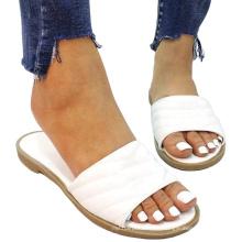 Women Sandals Lady Flats Rubber Slipper Flat Designer In Women Slipper Ladies Shoes Woman Sandals Shoes Summer