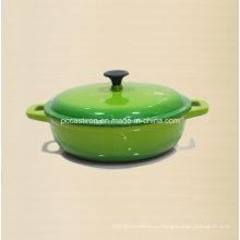 Поставка завода Китая эмалированная чугунная посуда Пзготовителей