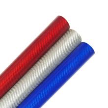 Strong strength 100% carbon 22mm 25mm 30mm Carbon fiber color tube