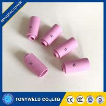 10n45 10n44 tig soldadura cerámica boquilla para wp26 tig soldadura antorcha