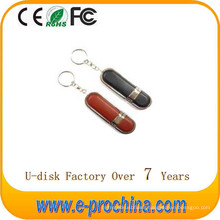 2016 Wholesalehot Sale Leather USB Flash Disk/USB Pen Drive for Free Sample