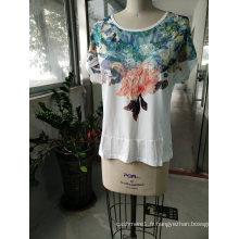 Mode Dernières Femmes En Relief Femmes T-Shirt Vêtements