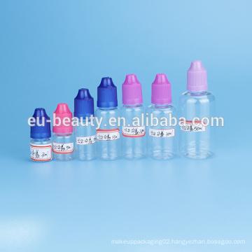 Bottles e-liquid