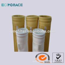 PTFE Acrylique Aramide fibre Non tissé à l'aiguille poinçonné Chaudières à filtre à poussière