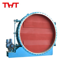 Electric louver shutter valve with good modulating performance