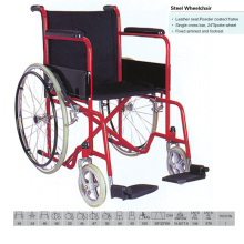 Powder Coated Economice Cheap Wheelchair
